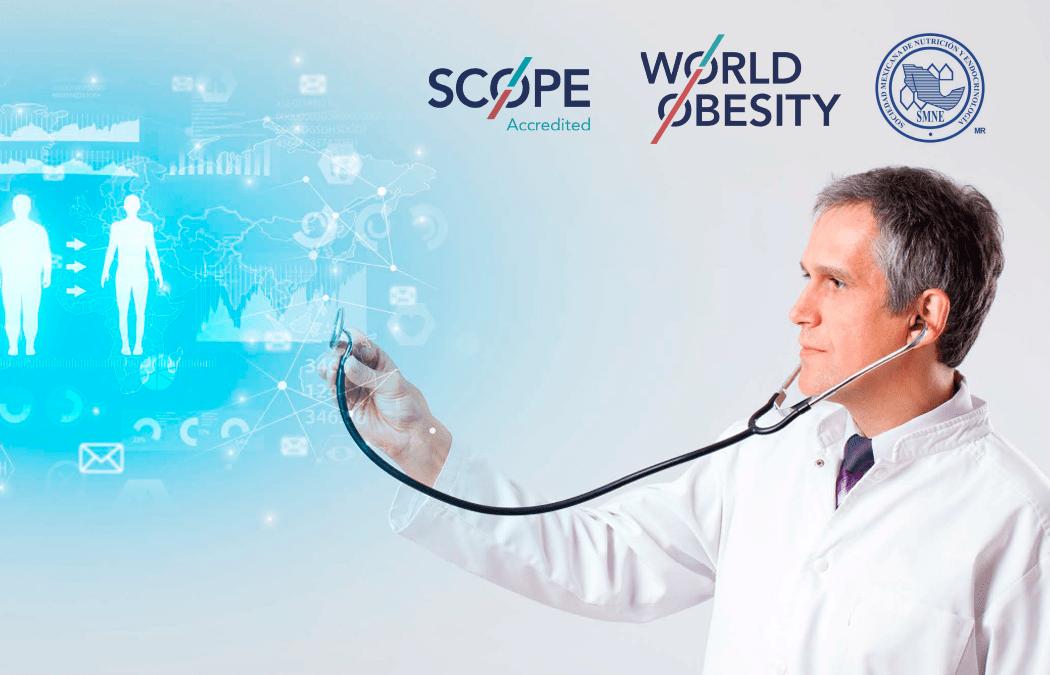 """Webinar """"La ciencia detrás de la obesidad: Diagnóstico y tratamiento para una enfermedad crónica. Uso de farmacoterapia y abordaje multidisciplinario en obesidad"""""""