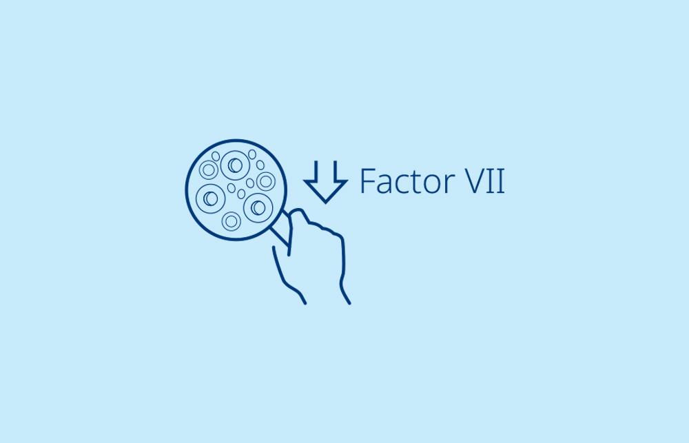 """Infografía: """"Deficiencia de Factor VII"""""""