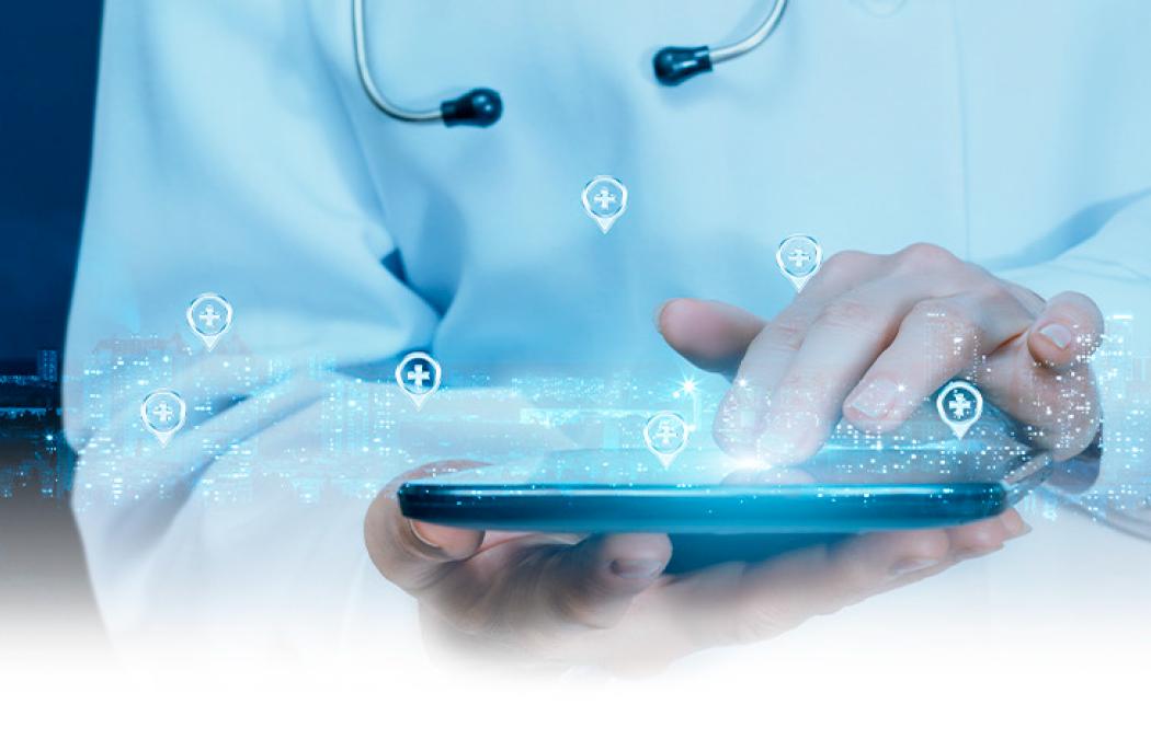 """Infografía """"Recomendaciones para el uso de redes sociales en la práctica médica"""""""