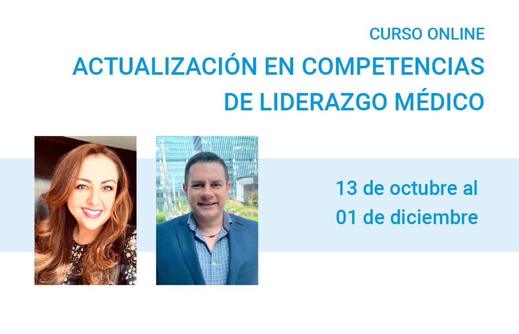 """Curso Online: """"Actualización en competencias de Liderazgo Médico"""""""