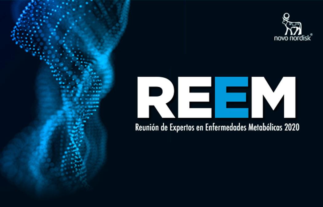 """REEM """"Reunión de Expertos en Enfermedades Metabólicas 2020""""."""